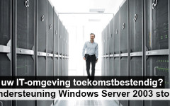 Telemos helpt u met de upgrade van Windows Server 2003 naar 2012.